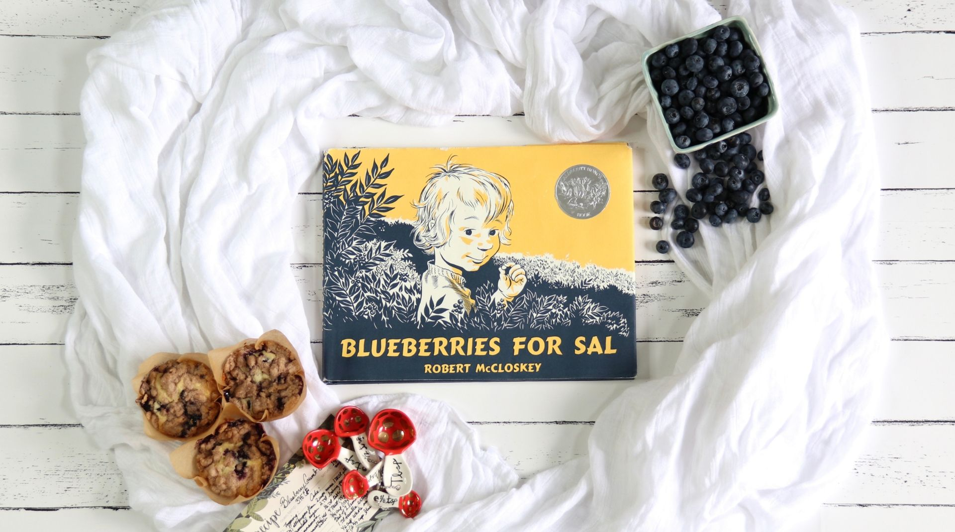 Episode 8 Blueberries For Sal Exquisitely Ever After